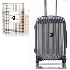 Burberry女士香水+西可尼西吕贝克旅行拉杆箱