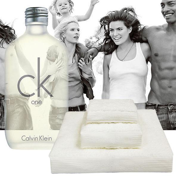 CK毛巾礼盒+CKONE香水