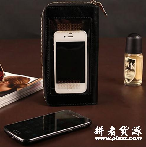 啄木鸟皮具-手机包3