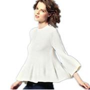 纯羊绒衫大码毛衣裙 2014新款春装