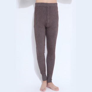 新款保暖裤羊绒裤可贴身穿男士加厚