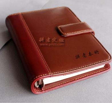 天津笔记本制作48开活页本、亚博体育官方登陆笔记本可封面印字logo标志