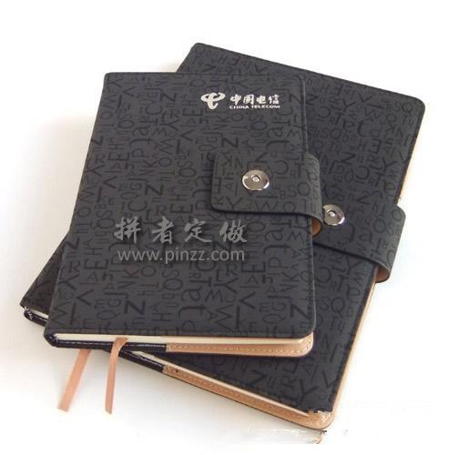 天津记事本定做厂家、为中国电信定制32开线装本