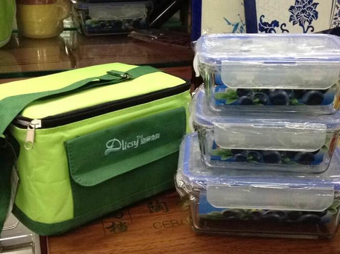 保鲜饭盒3件套【亚博体育官方登陆套装】和乐扣质量媲美