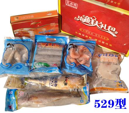 天津蟹兴阁-- 529型海鲜礼盒
