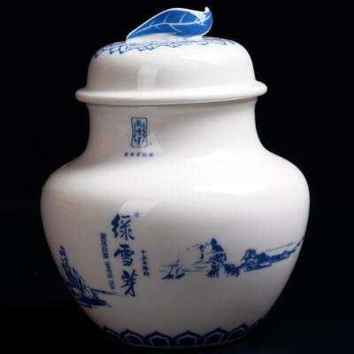 陶瓷特产罐-叶子