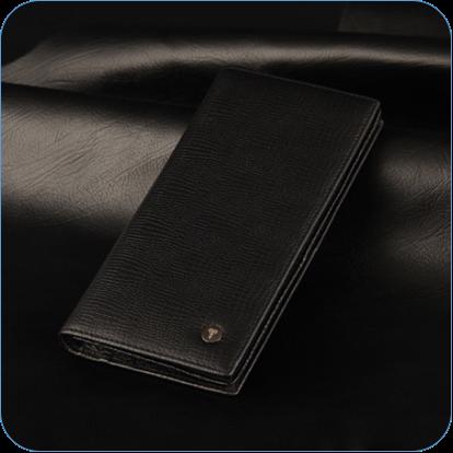 恒源祥商务票夹 长款(路路通纹) HJQ18AA00303/ 303-021盒
