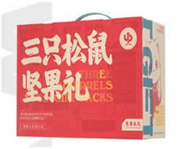 三只松鼠坚果礼盒C款(国红款)1盒