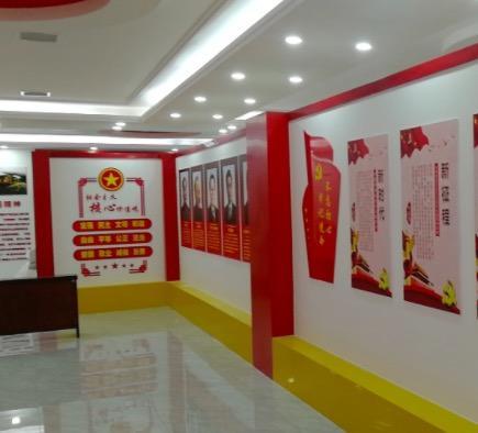 企业文化墙设计,党员文化学习设计,天津企业文化广告设计