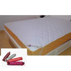 PINZZ保暖蚕丝床垫+小林糖果颈椎枕1份