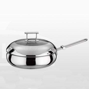德世朗精品厨具 典藏维也纳-煎炒两用锅 DFS-C013