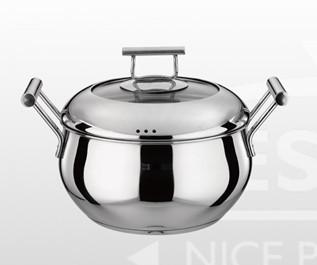 德世朗精品厨具 典藏维也纳-简约多用深汤锅 DFS-T013