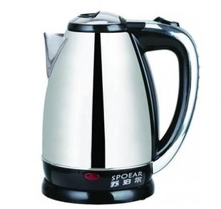 苏泊尔电热水壶全不锈钢 1.5L 快速烧水壶电茶壶包邮1台