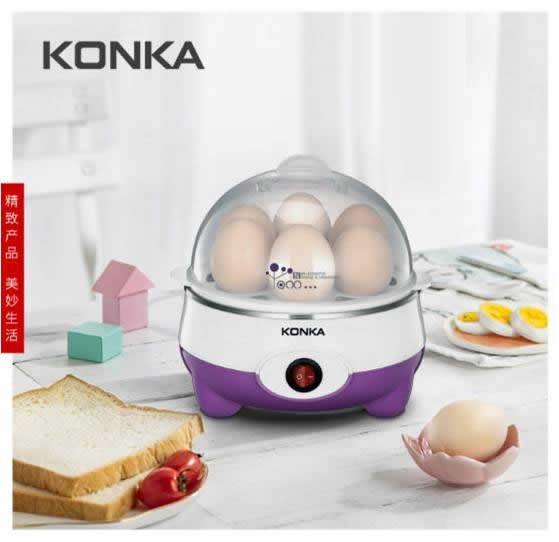 康佳KONKA 紫丁香 · 煮蛋器 KGZZ-12021盒